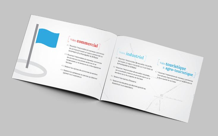 Conception d'une brochure informative