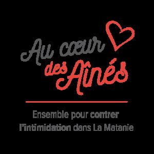 Conception d'un logo pour la campagne «Au cœur des aînés»