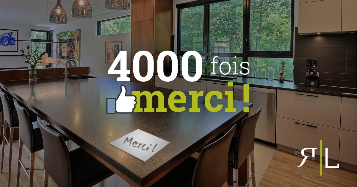Conception d'image pour des campagnes Facebook de Richard & Lévesque