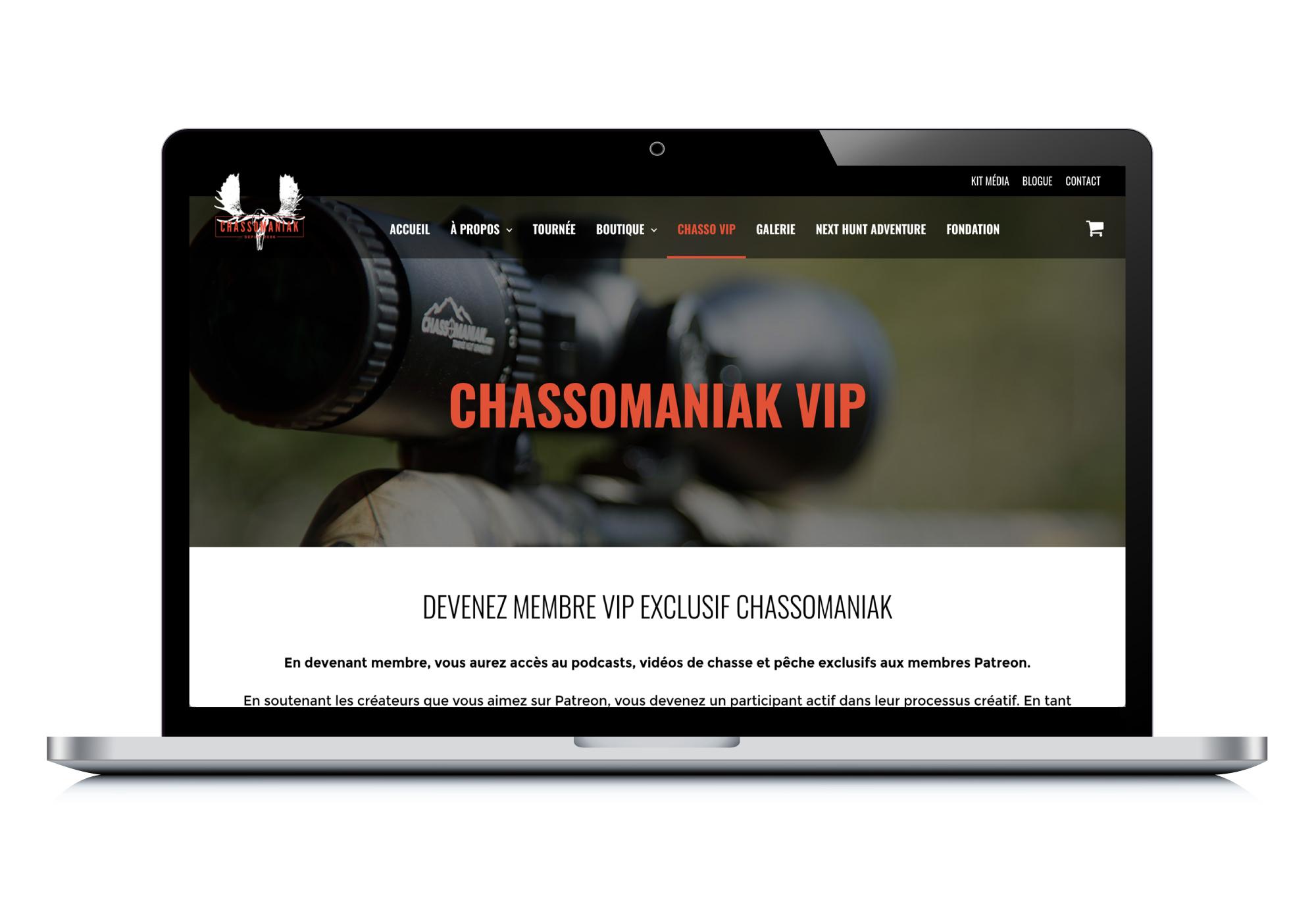 Site web chassomaniak.com