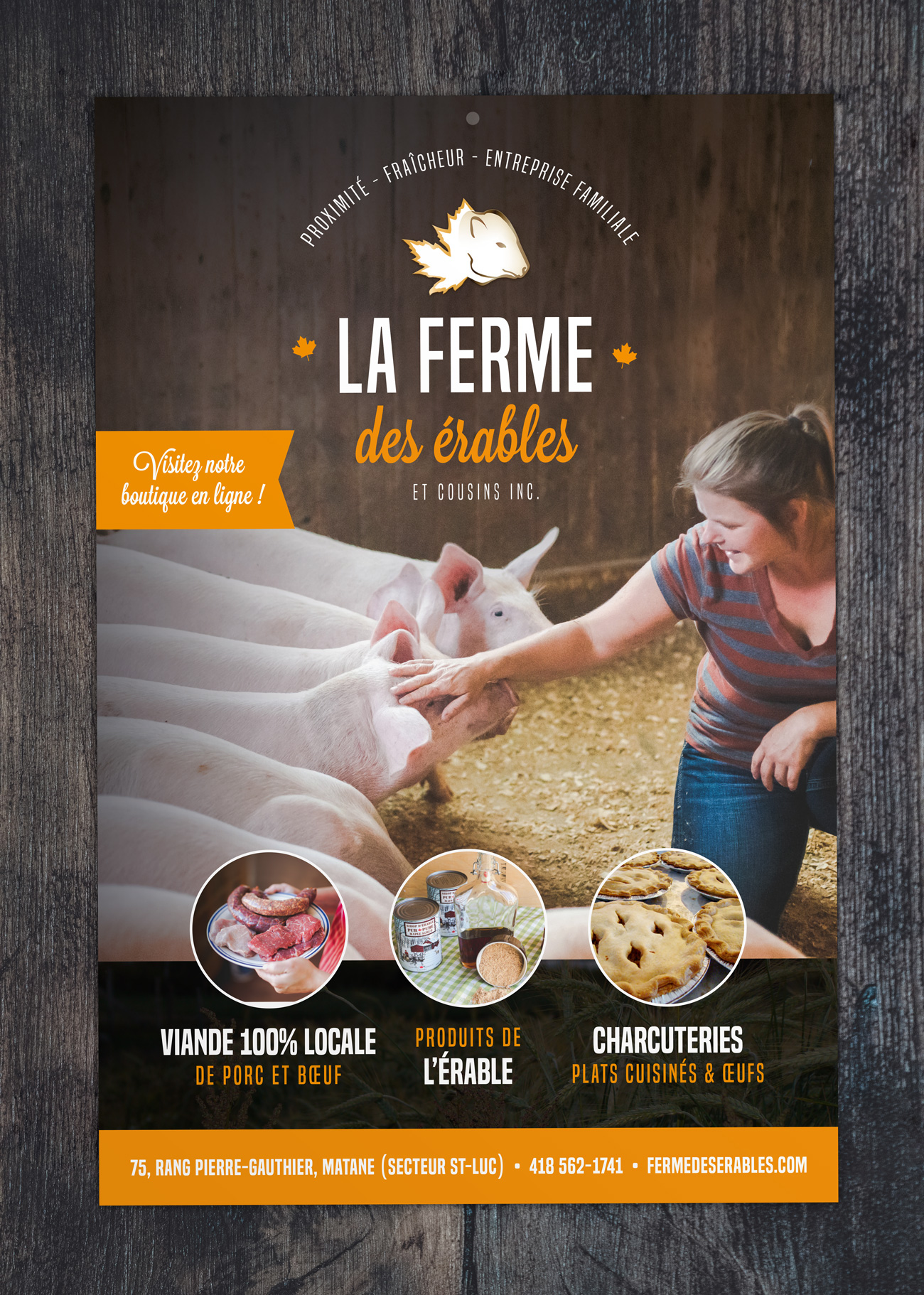 Conception d'une affiche promotionnelle