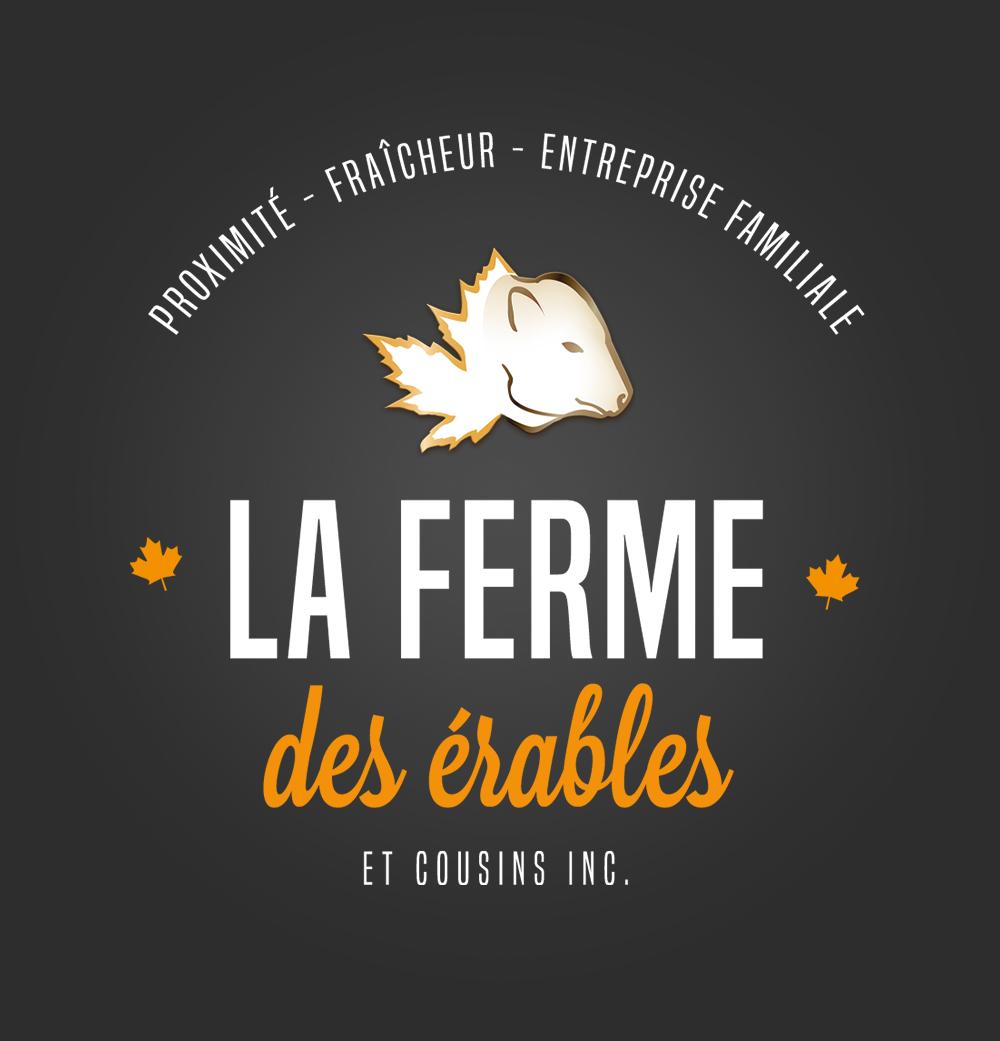 Conception du logo de la Ferme des Érables
