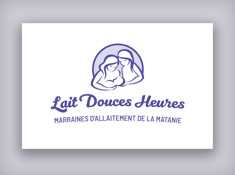 Conception d'un logo pour Lait Douces Heures