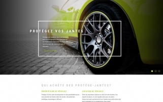 Design d'interface web – domaine automobile