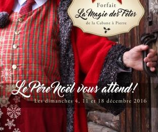 Affiche promotion de Noël