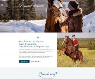 Site web Marie-Philip Couillard